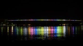 城ヶ島大橋ライトアップ