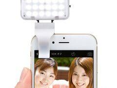 スマホ用LEDライト購入&レビュー。