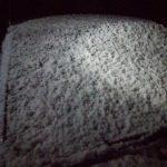 雪・底冷え。